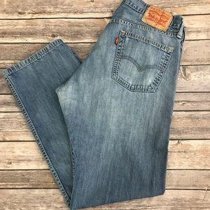 Levi's Soft Straight Men's Denim Jeans 34x30